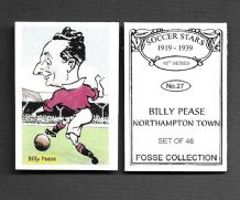 Northampton Town Billy Pease 27 (FC)